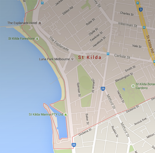 St Kilda St Kilda Tourism website – Melbourne Tourist Attractions Map