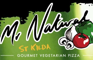 Mr Natural Vegetarian Pizza
