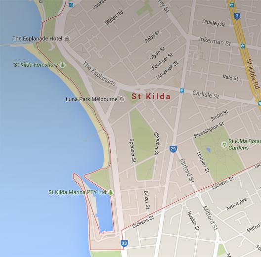 St Kilda Map St Kilda – St Kilda Tourism website