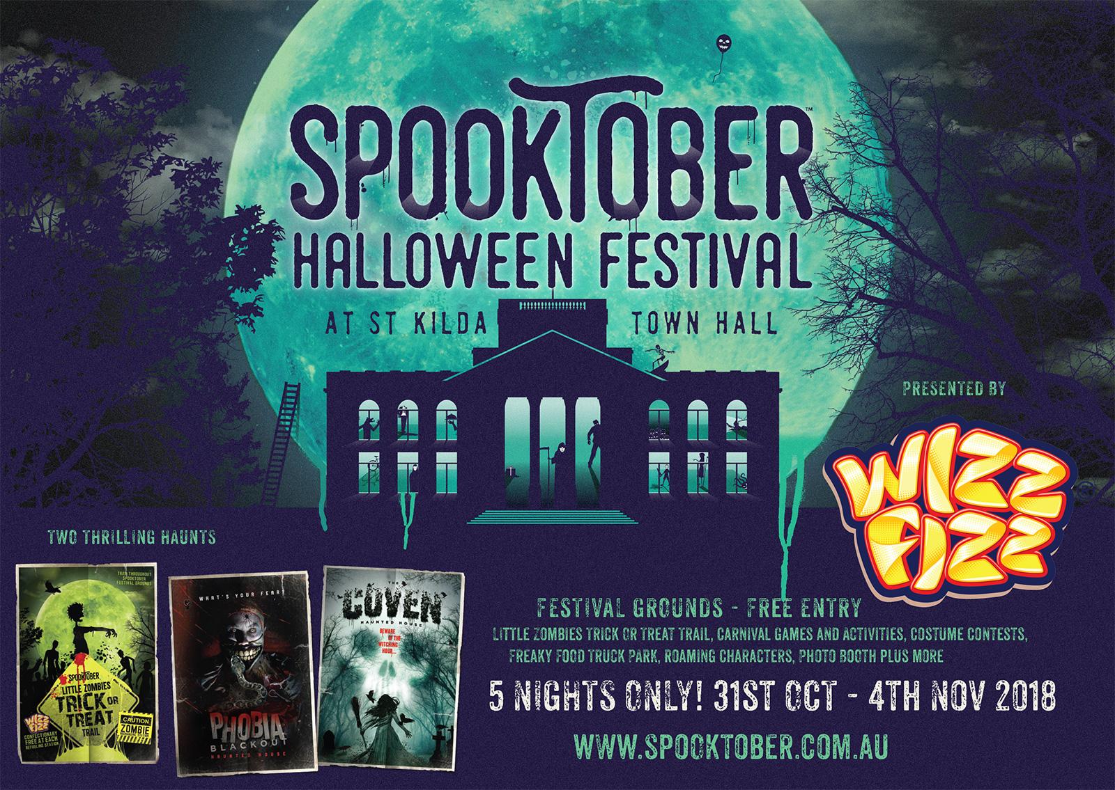 Spooktober Halloween Festival – St Kilda